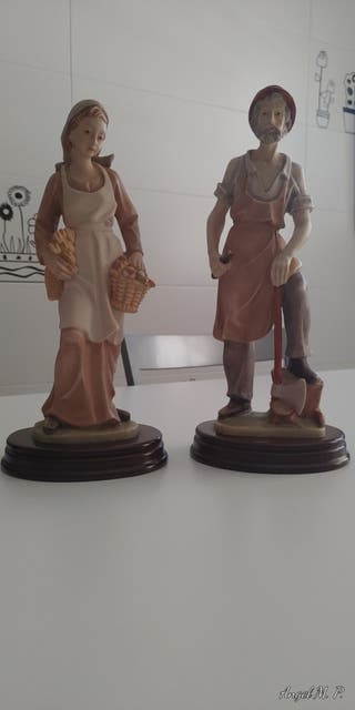 2 figuras decorativas