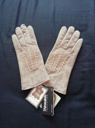 Guantes mujer Thinsulate piel