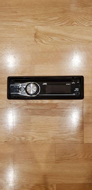 Radio CD para coche JVC