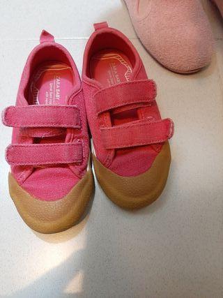 Zapatillas Rosa Zara ¡¡
