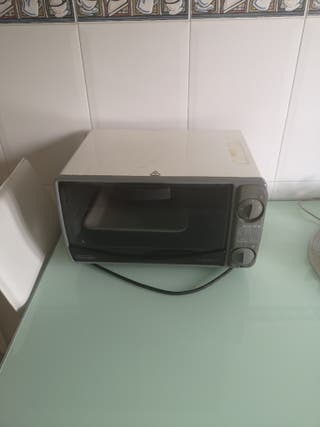 mini horno DeLonghi sfornatutto
