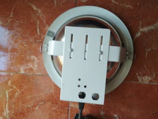 Plafón downlight bajo consumo