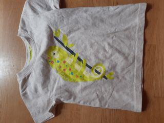 482. camiseta manga corta 24 meses