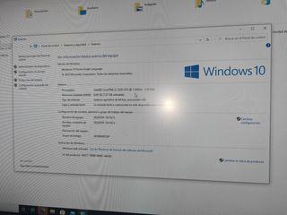 "Pack torre PC + monitor LG 22"" + teclado y raton"
