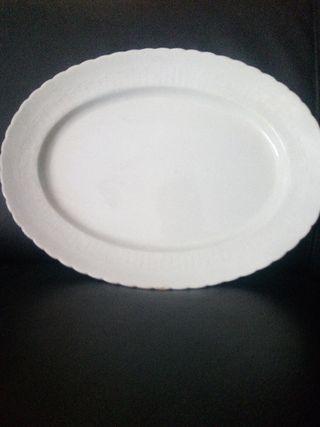bandeja porcela Pickman Cartuja