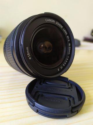 Canon 18-55mm is II NUEVO.