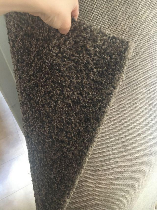 Alfombra marrón Ikea