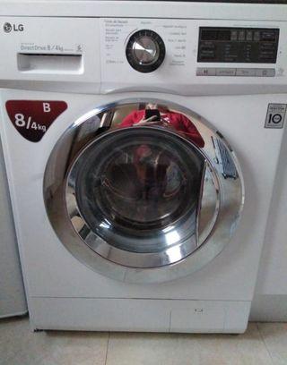Lavadora secadora marca LG