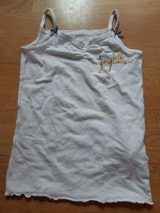 990. Camiseta tirantes 3-4 años Chicco