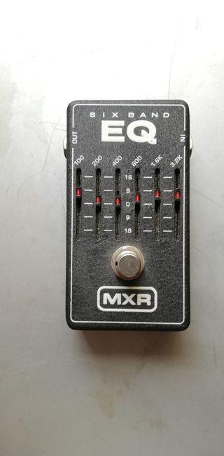 pedal de guitarra MXR Six Band EQ