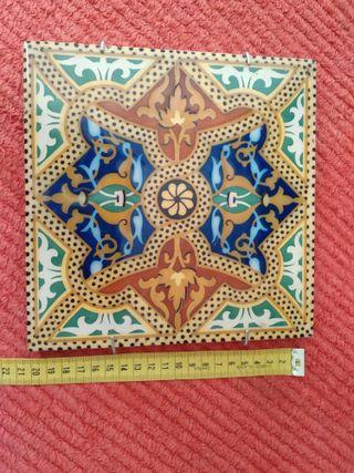 Azulejo antiguo el Leon Onda