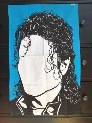 Paño Michael Jackson. Perfil solidario