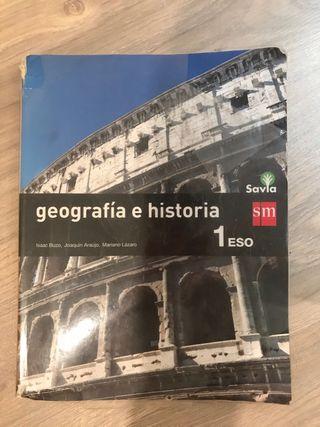 Libro geografía e historia 1º ESO