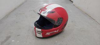 casco rojo agv s4