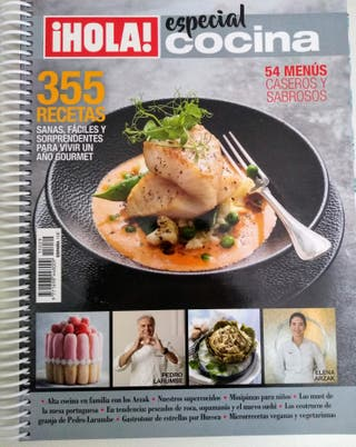 355 recetas. Hola! especial cocina