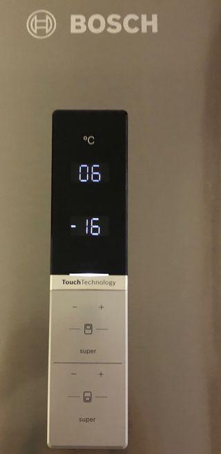 Frigorifico Bosch no frost inox