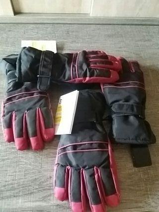 guantes de esqui