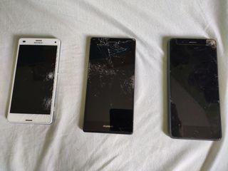 Móviles pantalla rota