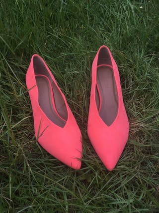 Summer bright shoes