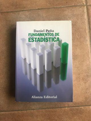 Fundamentos de Estadística - Daniel Peña
