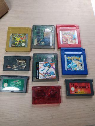 Juegos Game boy y Game Boy Advance