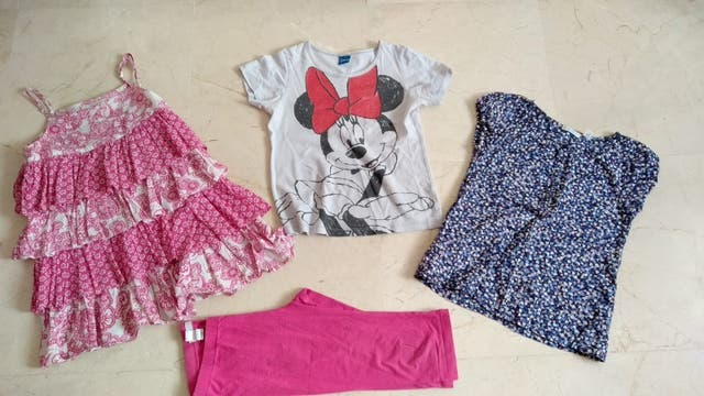 Lote ropa verano niña 8 años