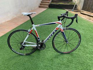 Bicicleta Scott Speedster 10 mejorada