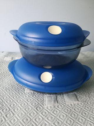 Recipientes microondas tupperware