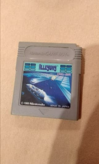 Alleyway Game Boy 1989