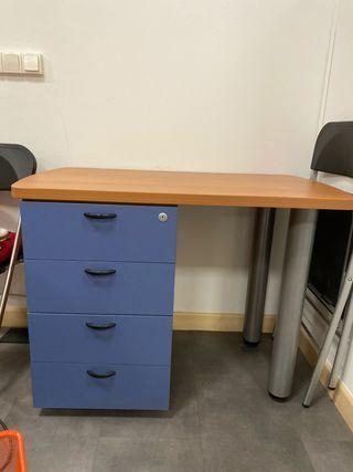 Conjunto 3 mesas de oficina auxiliar