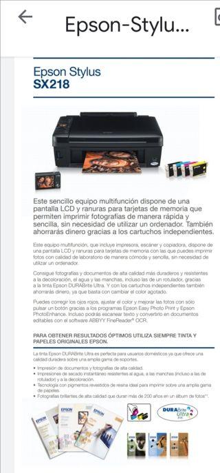 Impresora EPSON + Impresora HP