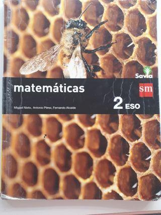 Matemáticas 2° ESO Savia SM