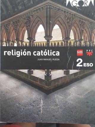 Libro de religión católica 2° ESO