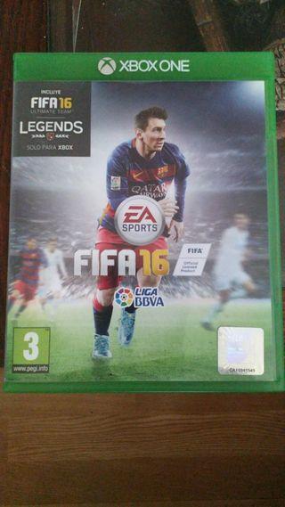 JUEGO FIFA 16 PARA XBOX