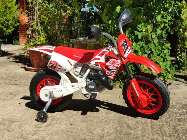 moto niño batería electrica