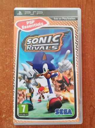 Videojuego PSP Sonic Rivals