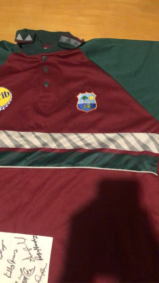 West Indies signed shirt will do swaps
