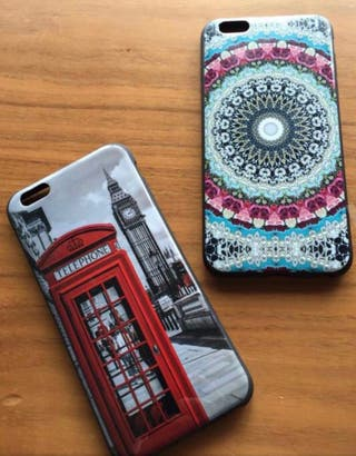 2 Fundas IPhone 6 Plus. Art 3x2
