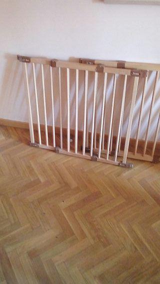 Barrera-puerta-valla seguridad infantil