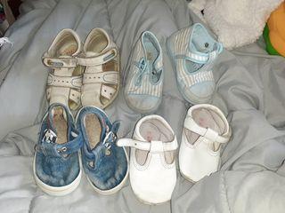 lote de zapatos de bebé talla 19