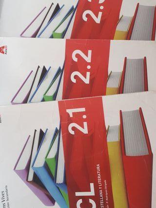Libros de lengua 2° ESO Vicens vives