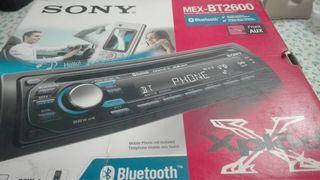 Radio coche Sony CD-ROM Bluetooth