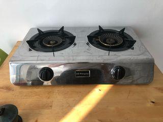Cocina Hornillo Gas Butano doble Orbegozo