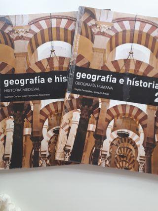 Libros de geografía e historia 2° ESO SM