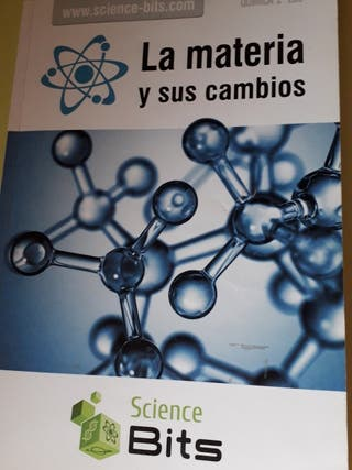 Libros física y química 2°ESO Science Bits