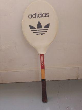 raqueta de madera