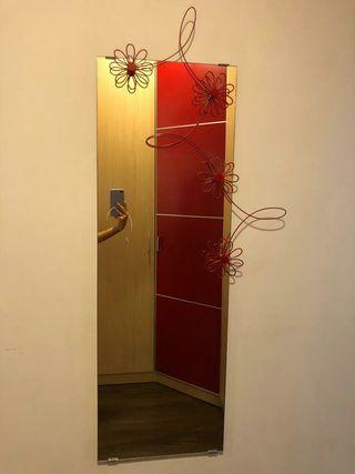 Espejo de 120x40 cm