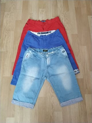 Lote pantalones cortos