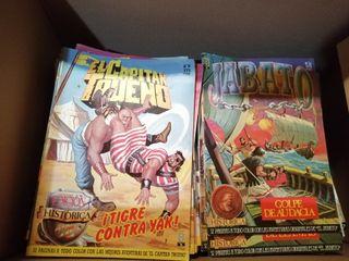 pack comics 214 del Capitán Trueno y JABATO