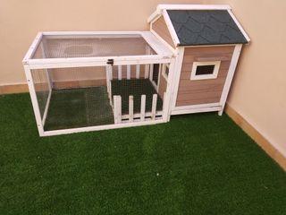 casa de conejo